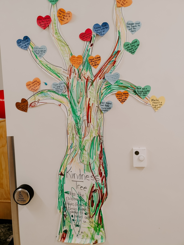 Sharing tree - ideas for ECEs